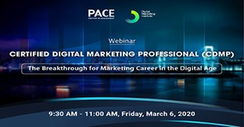 INFO SESSION: CERTIFIED DIGITAL MARKETING PROFESSIONAL (CDMP)